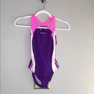 Girls Speedo One Piece Bathing Suit - Size 12